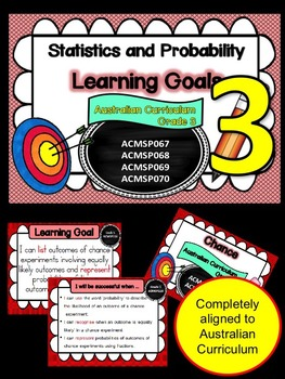 Gr 3  Maths  Statistics & Probability Learning Goals & suc