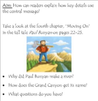 Gr 3 Ready Gen Unit 3 Module A Reading SmartBoard Lessons #10-18