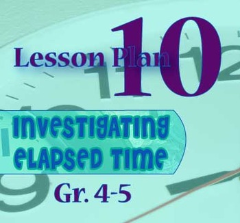 Gr. 4-5 Lesson 10 of 12: Introduction of Math Track(TM) Time Line