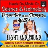 Gr. 4/5 Light & Sound AND Properties of & Changes in Matte