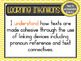 Version 8.3 - Grade 4 - All English Learning INTENTIONS &