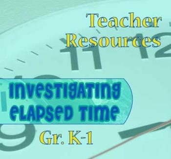 Gr. K-1 TEACHER RESOURCES for Lessons 1-13