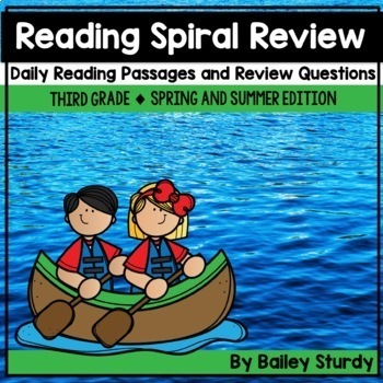 Gr3 Spiral Reading Review Days 151-180