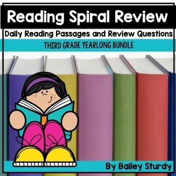 Gr3 Spiral Reading Review BUNDLE