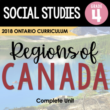 (Gr. 4) Physical Regions of Canada