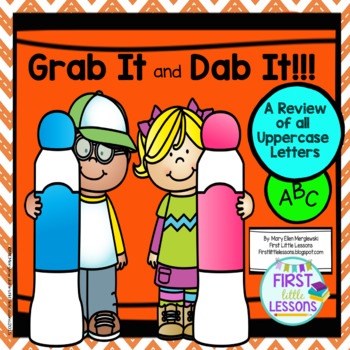 Grab It and Dab It: Uppercase Letter Review
