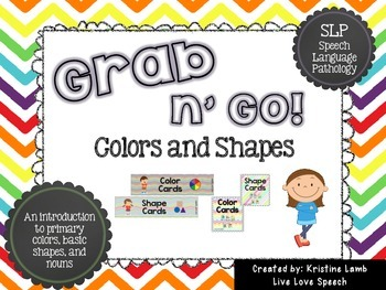 Grab N' Go Colors and Shapes