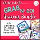 Grab N' Go Fall Pack for Speech and Language
