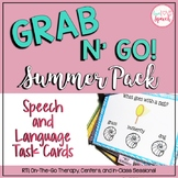 Grab N' Go Summer Pack for Speech and Language