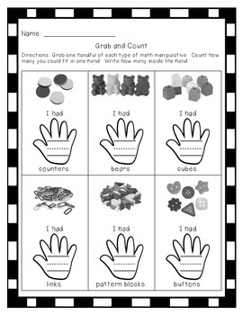 Grab and Count-counting to 20 center