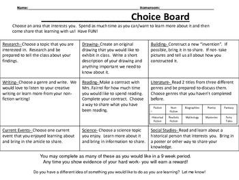 Grab and Go Extension Activities for 4th and 5th grade