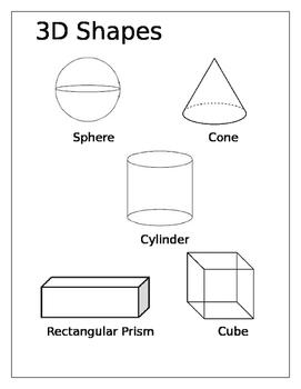 Grade 1 3D shapes