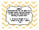 Grade 1 Common Core Math Standard Posters {Chevron Color Coded}