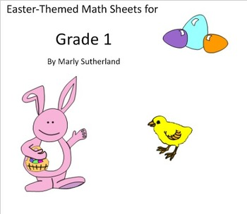 Grade 1 Easter Math Sheets