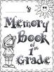 Grade 1 End of Year Memory Book!