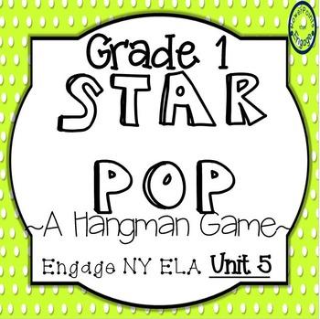 Grade 1 Engage NY Skills Unit 5 Spelling Star Pop
