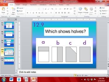 Grade 1: Go Math: Exit Ticket Questions