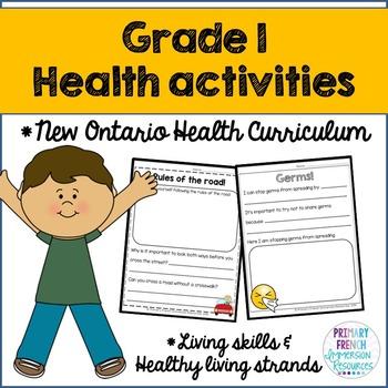 Grade 1 Health - Living Skills and Healthy Living Strands