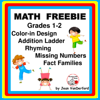 FREE   Grades 1-2 MATH Freebie   PRACTICE ADDITION and SUB