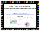 Grade 1 Math Goals and Scales, Common Core and Marzano Tea