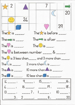 Grade 1 Maths 1:Counting, Before, After, Between, More & L