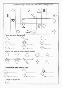 Grade 1 Maths 2:Counting, Before, After, Between, More & L