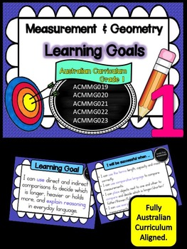 Grade 1 Maths - Measurement & Geometry Learning Goals & Su