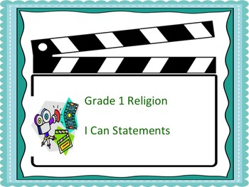 Grade 1 Religious Education I Can Statement Posters - Holl