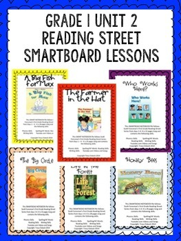 Grade 1 Scott Foresman Reading Street Unit 2 BUNDLE Smartb