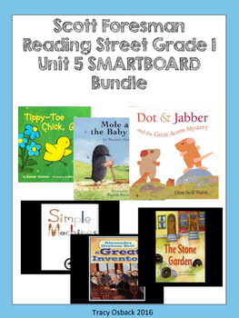 Grade 1 Scott Foresman Reading Street Unit 5 BUNDLE Smartb