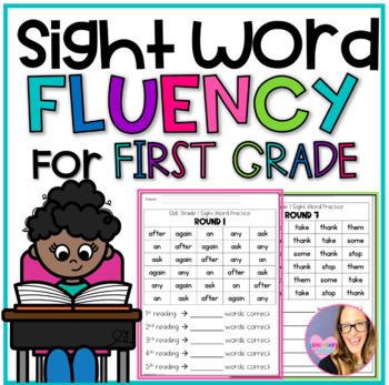 Grade 1 Sight Words Fluency Practice Sheets