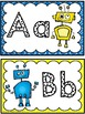Grade 1 Word Wall: Robot Theme (Over 150 Words)