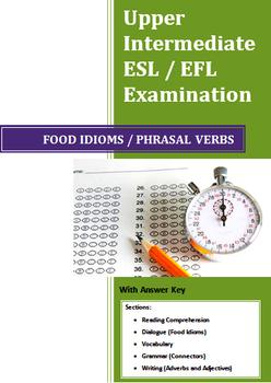 Grade 12 High School English as a Second Language (ESL) Ex
