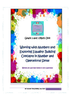 Grade 2 & 3 Working with Numbers