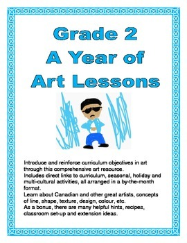Grade 2 A Year of Art Lessons