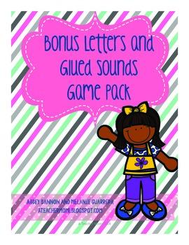 Grade 2 -Bonus Letters and Glued Sounds Games