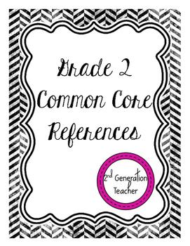 Grade 2 Common Core References
