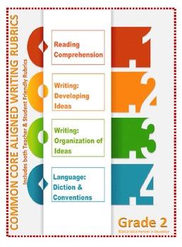 Grade 2: Teacher/Student Friendly Common Core/PARCC Aligne