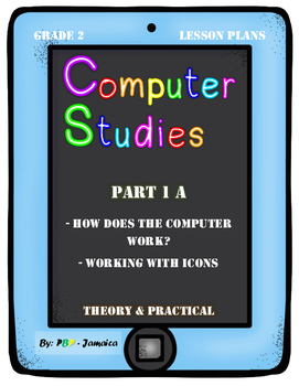 """Grade 2 Computer Studies Lesson Plan on """"How does a comput"""