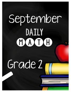 {Grade 2} September Daily Math Packet