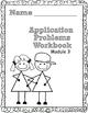 Grade 2  Math Module 3 Application Problems Student Workbook!