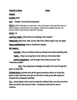 Grade 2 Go Math Chapter 10 lesson plans