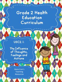 Grade 2 Health: Unit 1: The Influence of Thoughts, Feeling