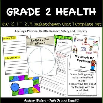 Grade 2 Health - Unit 1 -  USC2.1, 2.2, 2.3, 2.4, 2.5 and