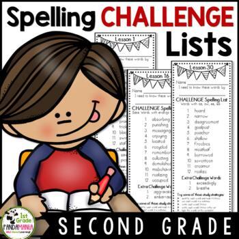 Grade 2 Houghton Mifflin Journeys 2011 CHALLENGE Spelling