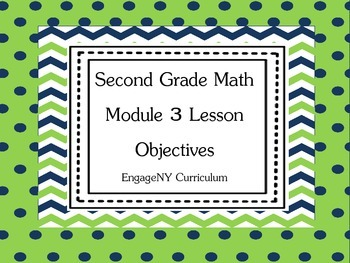 Grade 2 Learning Targets for EngageNY Math Module 3