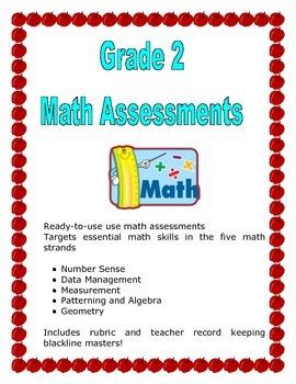 Grade 2 Math Assessment