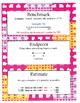 Grade 2 Math Module 2 Vocabulary Cards!