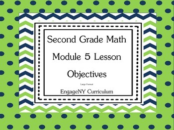 Grade 2 Math Module 5 Learning Targets Large Format