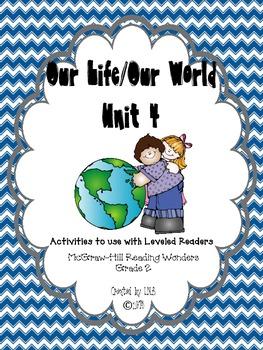 Grade 2 McGraw-Hill Wonders Unit 4 Leveled Reader Activities